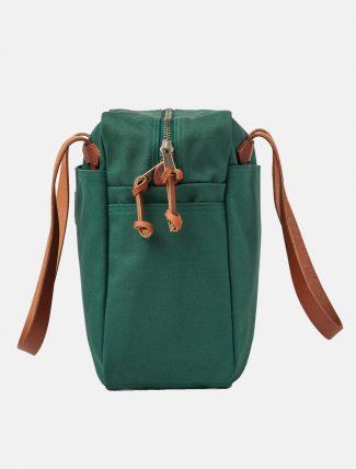 Filson Tote Bag W Zipper Hemlock fianco