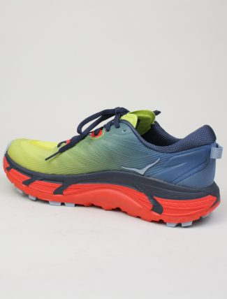 Hoka One One Mafate Speed 3 Provincial Blue Fiesta dettaglio laterale
