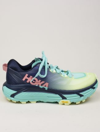Hoka One One W Mafate Speed 3 Black Iris Cascade