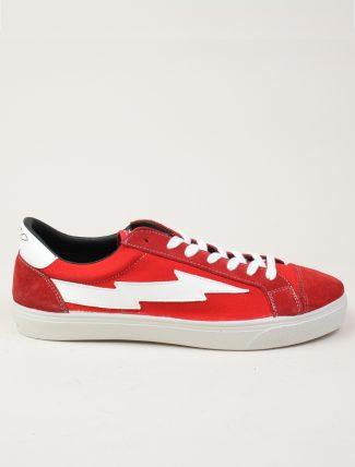 Sanyako Thunderbolt Classic Red White