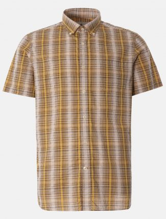 Barbour Carmet Shirt Antique Yellow