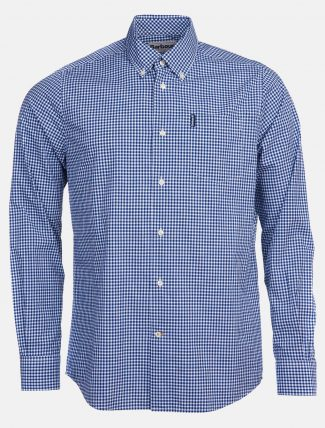 Barbour Gingham 19 Shirt Inky Blue