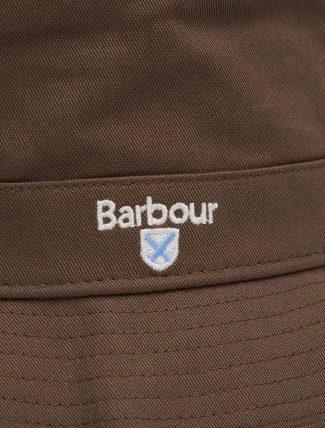 Barbour Cascade Bucket Hat Olive dettaglio