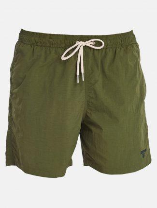 Barbour Essential Swim Shorts Logo Olive