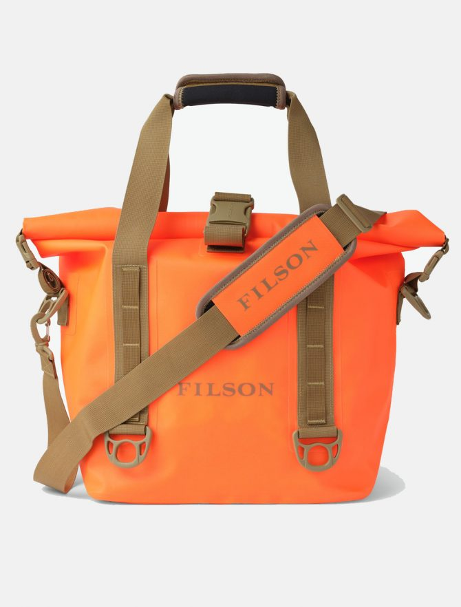 Filson Dry Roll-Top Tote Bag Flame
