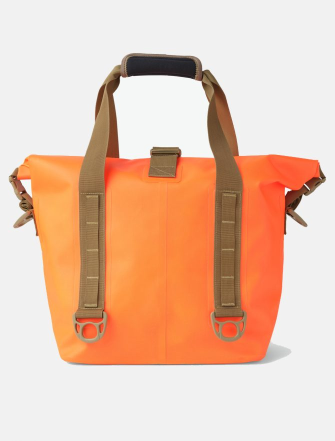 Filson Dry Roll-Top Tote Bag Flame retro