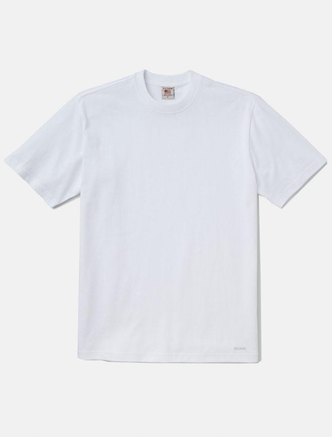 Filson Pioneer Solid T-Shirt Bright White