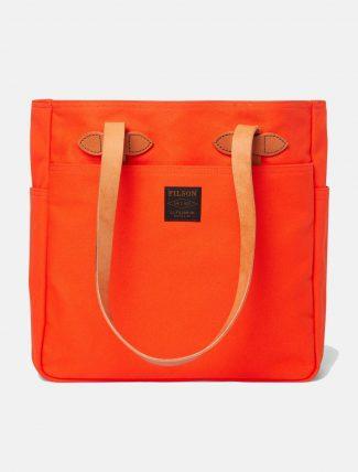 Filson Rugged Twill Tote Bag Phaesant Red