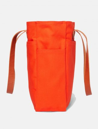 Filson Rugged Twill Tote Bag Phaesant Red fianco