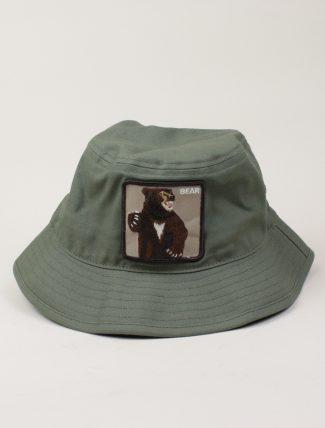 Goorin Bros Bucket Hat Bear Green