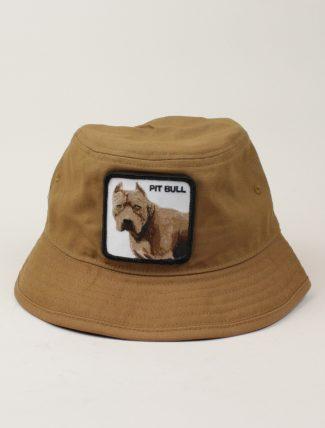 Goorin Bros Bucket Hat Pit Bull Cognac