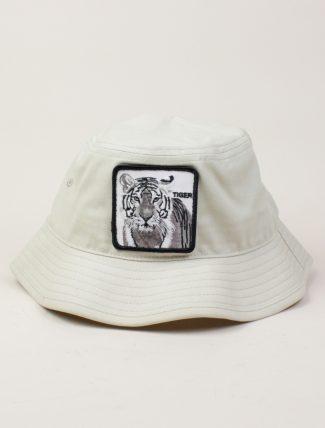 Goorin Bros Bucket Hat Tiger White