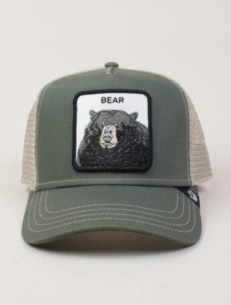Goorin Bros Trucker Hat Bear Grey