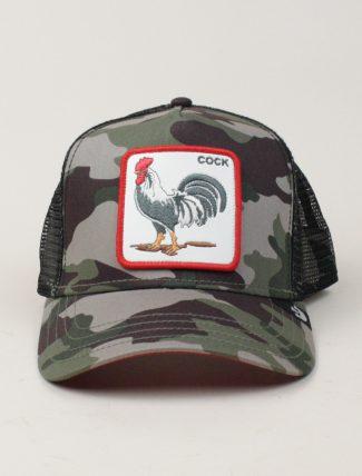 Goorin Bros Trucker Hat Cock Camouflage