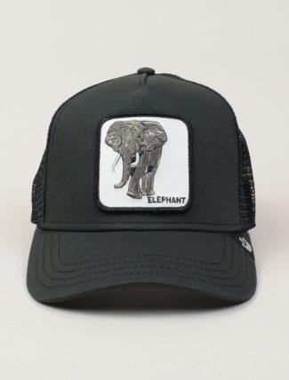 Goorin Bros Trucker Hat Elephant Dk Grey