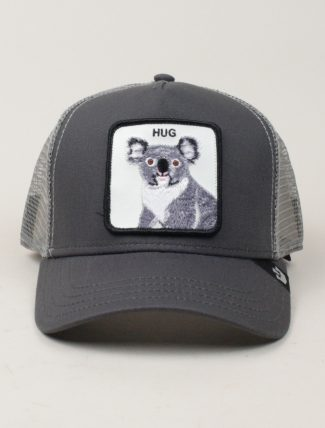 Goorin Bros Trucker Hat Hug Grey
