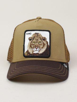 Goorin Bros Trucker Hat King Tan