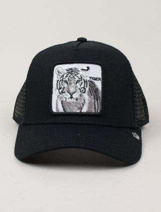 Goorin Bros Trucker Hat Tiger Black