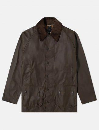 Barbour Beaufort Wax Jacket Olive