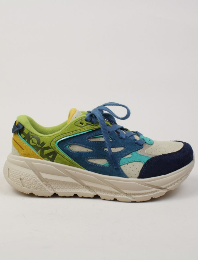 Hoka One One Clifton L Suede Multi Shifting Sand