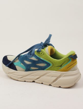 Hoka One One Clifton L Suede Multi Shifting Sand dett dx