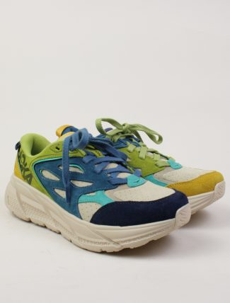 Hoka One One Clifton L Suede Multi Shifting Sand paio