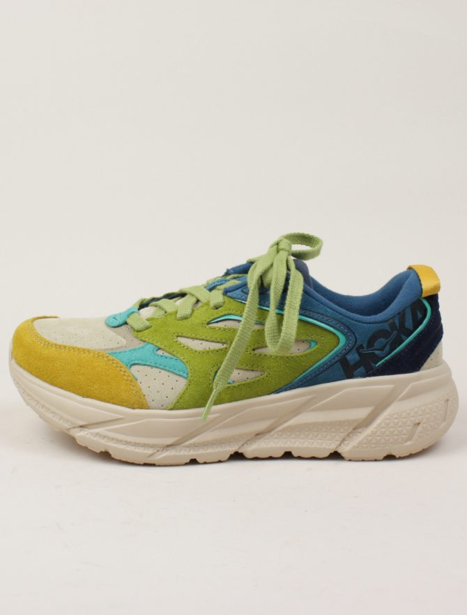 Hoka One One Clifton L Suede Multi Shifting Sand sx