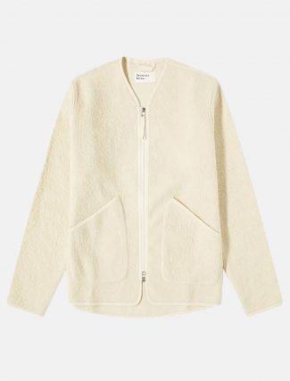 Universal Works Zip Liner Jacket Ecru
